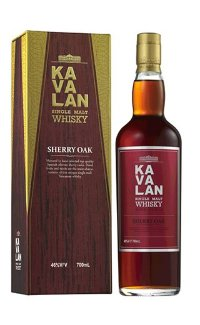 Виски Kavalan Sherry Oak 0.7 л