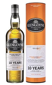 Виски Glengoyne 10 Years Old 0.7 л