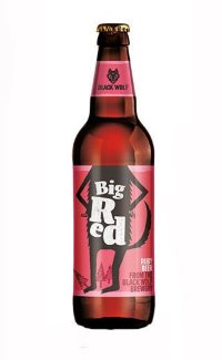 Пиво Black Wolf Big Red 0.5 л