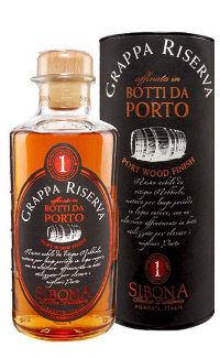 Граппа Sibona Riserva Port Wood Finish 0.5 л