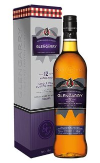 Виски Glengarry 12 Y.O. Single Malt 0.7 л
