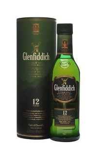 Виски Glenfiddich Malt Scotch Whisky 12 Y.O. 0.05 л