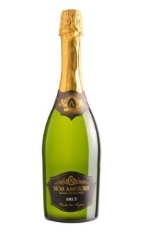Игристое вино Grands Chais de France A Nos Amours Brut 0.75 л
