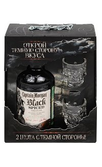 Ром Captain Morgan Black Spiced 0.7 л