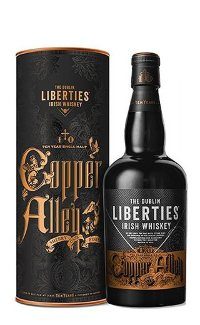 Виски Dublin Liberties Copper Alley Single Malt 10 Y.O. 0.7 л