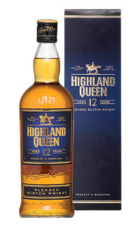 Виски Highland Queen 12 Years Old 0.7 л