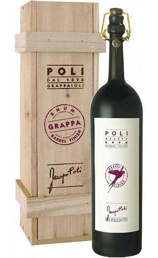 Граппа Grappa Poli Rhum Barrel Finish 0.5 л